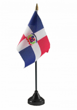 DOMINICAN REPUBLIC - Table Flag